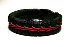Stormdrane's Blog: Center stitched paracord bracelet/watchband