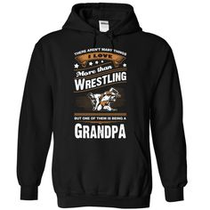 Love being a grandpa more than Wrestling T-Shirts, Hoodies. BUY IT NOW ==► https://www.sunfrog.com/LifeStyle/Love-being-a-grandpa-more-than-Wrestling--1015-4307-Black-Hoodie.html?id=41382