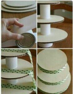 47 ideas for wedding cakes diy decorating cupcake stands – Cupcakes Bolo Diy, Wedding Cupcakes, Cupcake Stand Wedding, Diy Wedding Cake, Wedding Cake Stands, Diy Cake, Diy Birthday, Birthday Cakes, Diy Party