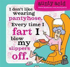 The wisdom of Aunty Acid