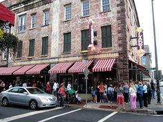 """Paula Deen's restaurant """"The Lady and Sons"""" in Savannah Georgia.  The food made the long line WELL worth the wait!"""