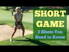Short Game Shots You Need to Know // Golf Tips with Paige Spiranac // Shadow Creek Golf Course - YouTube