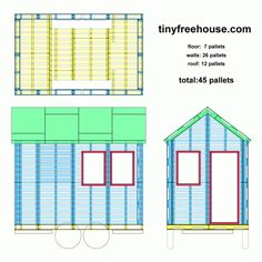 pallet playhouse for the kids