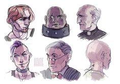 portraits by haimeART on deviantART