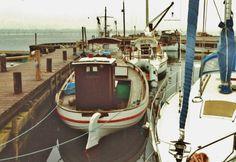 KAREN i Bogø havn i august 1991. Her med det styrehus, som Theodor Hansen byggede. Foto udlånt af Jan Hansen