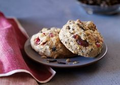 Wild Rice and Dried Cranberry Cookies. Vegetarian. Gluten free. Cooked wild rice replaces oats (which can be tainted with gluten) in this variation on old-fashioned oatmeal-raisin cookies.