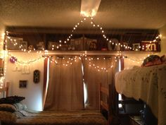 College Dorm Room Decor ΧΩ Beautiful Lights And D Set Up Inspiration