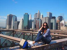 #Tips2Go - #Fashion #Blogger Zina Charkoplia ( @fashionvibe ) for #Tips2Go in #NewYork - #Samsonite, #LiteLocked #Travel #Luggage #Suitcase