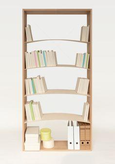 bookshelf.jpeg 467×662 pixels Very smart! No books falling over if the shelf isn't completely full.