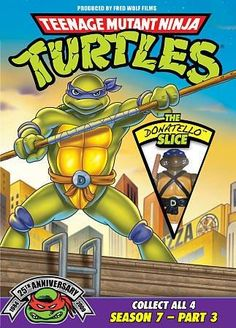 Teenage Mutant Ninja Turtles 25th Anniversary Season 7 Part 3: The Donatello Slice