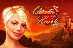 Besuchen Sie das Schloss einer Königin mit dem kostenlosen #Spielautomat Queen of Hearts Deluxe von #Novomatic!