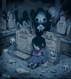 DeviantArt is the world's largest online social community for artists and art enthusiasts, allowing people to connect through the creation and sharing of art. Horror Drawing, Horror Art, Halloween Illustration, Illustration Art, Creepy Cat, Halloween Artwork, Dark Art Illustrations, Arte Obscura, Dark Fantasy Art