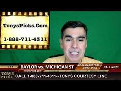 Baylor Bears vs. Michigan St Spartans Pick Prediction College Basketball...