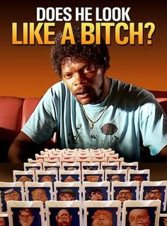 Pulp Fiction Guess Who...died laughing at this
