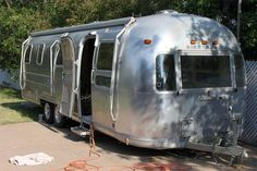 1967 Airstream redo. This blog shows the step by step process they went through to get the trailer road ready.