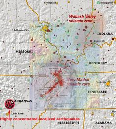new madrid fault line earthquakes | New Madrid EarthQuake Information - Page 5
