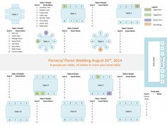 tips wedding seating chart template