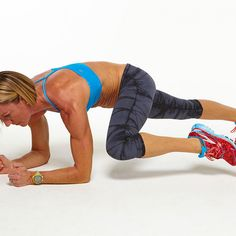 Day 14 Plank Challenge: Low Side Plank Knee to Same Side Elbow - Fitnessmagazine.com