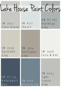 If you follow me on Facebook, then you know I have been picking paint colors for the new house – one of my most dreaded tasks! You can see I went through just a few paint chips below… Paint is so tric