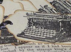 Vintage Typewriter Gift Tags