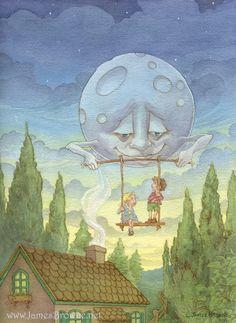Moonsitting by James Browne