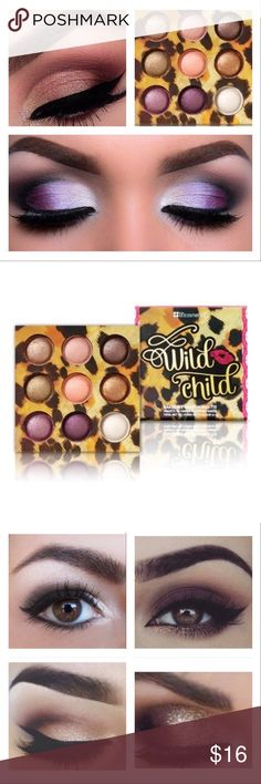 Authentic BH Cosmetics Wild Child Palette New in Box & Sealed, Gorgeous Shimmering, Highly Pigmented Colors to use when you want to get a little wild ;-) bh cosmetics Makeup Eyeshadow