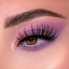 Purple Eyeshadow Looks, Purple Makeup Looks, Purple Eye Makeup, Makeup Eye Looks, Colorful Eye Makeup, Eye Makeup Art, Cute Makeup, Eyeshadow Makeup, Drugstore Makeup