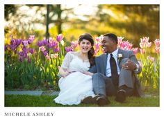 Meredith and Jean relax in the garden before making their next appearance at the reception in May 2015.