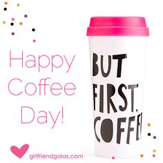 Girlfriend Galas offers fabulous party supplies, favors and gifts including cute ceramic travel mugs, sassy insulated tumblers and sport water bottles. Cocktail Accessories, Coffee Cupcakes, Travel Cup, Insulated Tumblers, Drinkware, Party Supplies, Cups, Water Bottle, Dishes