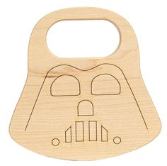 Star Wars Darth Vader baby teether by Little Sapling Toys #maythe4thbewithyou