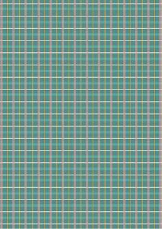Blue tartan scrapbook paper
