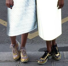 Street-Style / Margaret Zhang in Paris / Wearing Dion Lee