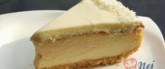 Exotický cheesecake s kokosem a ananasem Dessert Recipes, Desserts, Cheesecake, Food, Pineapple, Pies, Cheesecake Cake, Postres, Deserts