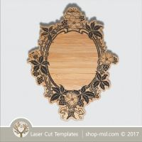 Shop-MSL Drawing Templates, Vintage Frames, Flower Frame, Vector File, Free Design, How To Draw Hands, Antiques, Laser Cutting, Drawings
