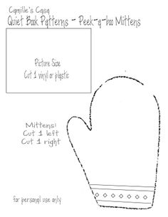 quiet book sewing pattern | Quiet Book Pages: Peek-a-boo, Barn & Mailbox