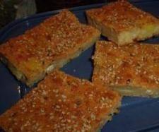 Rezept Schafskäse Blechkuchen von dolcebella - Rezept der Kategorie Backen herzhaft