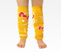 Hello Kitty Leg Warmers - Set of 5 comes in all multiple colors - NEED! $42.00 sanrio.com