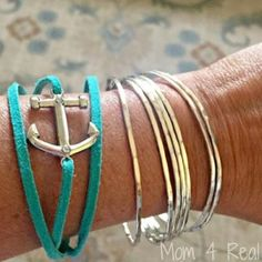 Repel mosquitos with this fashionable DIY bracelet.