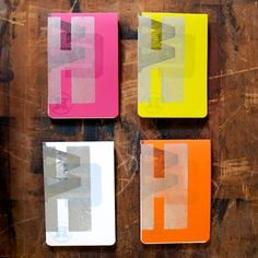 Notebooks (Book) - Hamilton Wood Type & Printing Museum