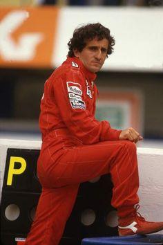 "Alain Prost ""The Professor"" Alain Prost, Le Mans, Grand Prix, Ferrari, F1 Drivers, F1 Racing, Car And Driver, Formula One, Race Cars"