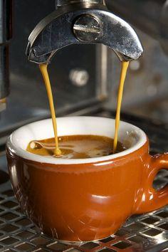 Espresso-- perfect crema:www.mywandercoffee.com#mywandercoffee