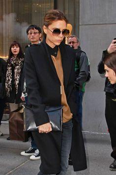 Victoria Beckham in NYC   Tom & Lorenzo