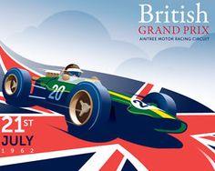 images of british grand prix posters | Sports Mem, Cards & Fan Shop > Fan Apparel & Souvenirs > Racing ...