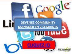 comment-devenir-community-manager by MEDIASENSO via Slideshare