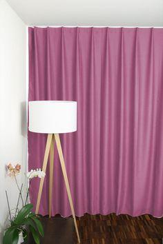 Verdunkelungsvorhang LONDON soho edition lime pink lila mint - vorhangbox.ch Soho, Pink Lila, Mint, London, Curtains, Shower, Interior, Home Decor, Purple Curtains