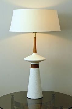 """HUGE 39"""" Atomic Space Age Mid Century Mod 60's TABLE LAMP Adrian Pearsall Era"""