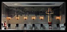Tartuffe  by Moliere, directed by David Kennedy, Westport Country Playhouse, CT  desisn : wilson chin costumes: Ilona Somogyi, lighting: Matthew Richards,