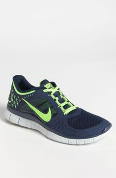 To go with my Russell Wilson jersey, Nike 'Free Run+ 3' Running Shoe (Men)