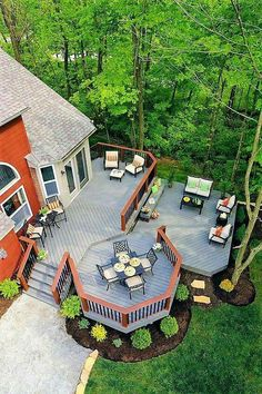 Cozy Backyard Patio Design and Decor Ideas - Page 14 of 100 Cozy Backyard, Backyard Patio Designs, Decks And Porches, Outdoor Projects, Cabana, Outdoor Spaces, Pergola, Beautiful Scenery, Beautiful Soul