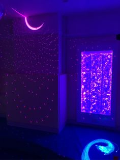 New Sensory Room for the Elms Nursery in Birmingham. An extremely low maintenance, energy efficient project with the use of LED's that run on low voltage thus using very little power and all the interactive sensory products being controlled by our wireless remote's which all have a battery life of at least 5 years on continuous use....